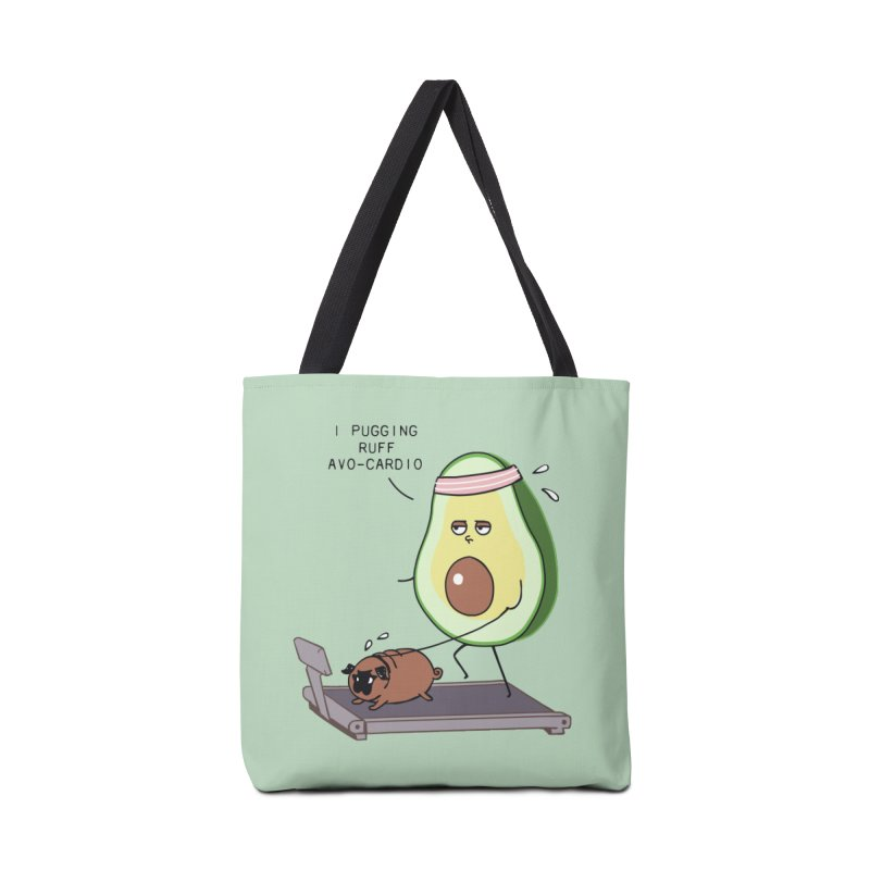 I PUGGING RUFF AVOCARDIO Accessories Bag by huebucket's Artist Shop