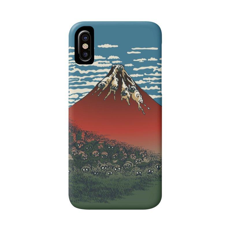 Mount Pugs Fuji Accessories Phone Case by huebucket's Artist Shop