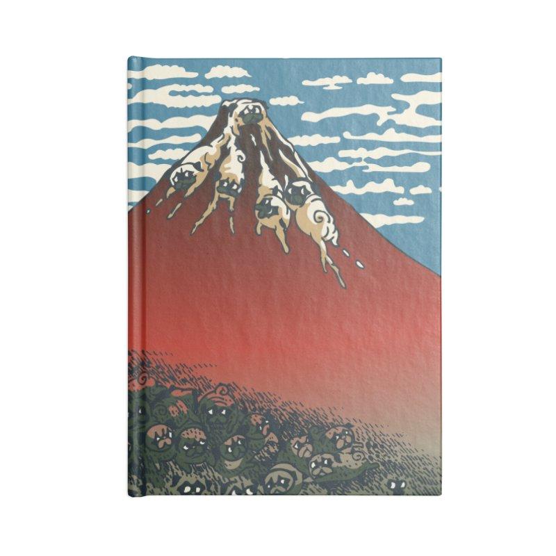 Mount Pugs Fuji Accessories Notebook by huebucket's Artist Shop