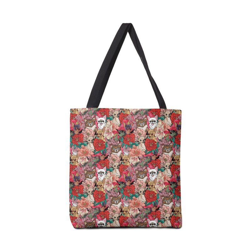 Because Chihuahua Accessories Bag by huebucket's Artist Shop