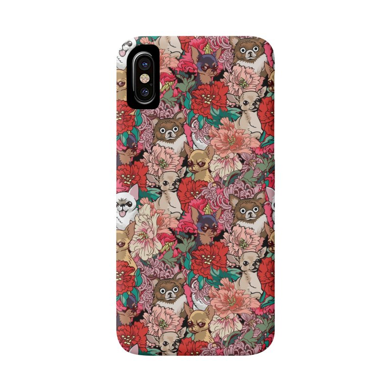 Because Chihuahua Accessories Phone Case by huebucket's Artist Shop