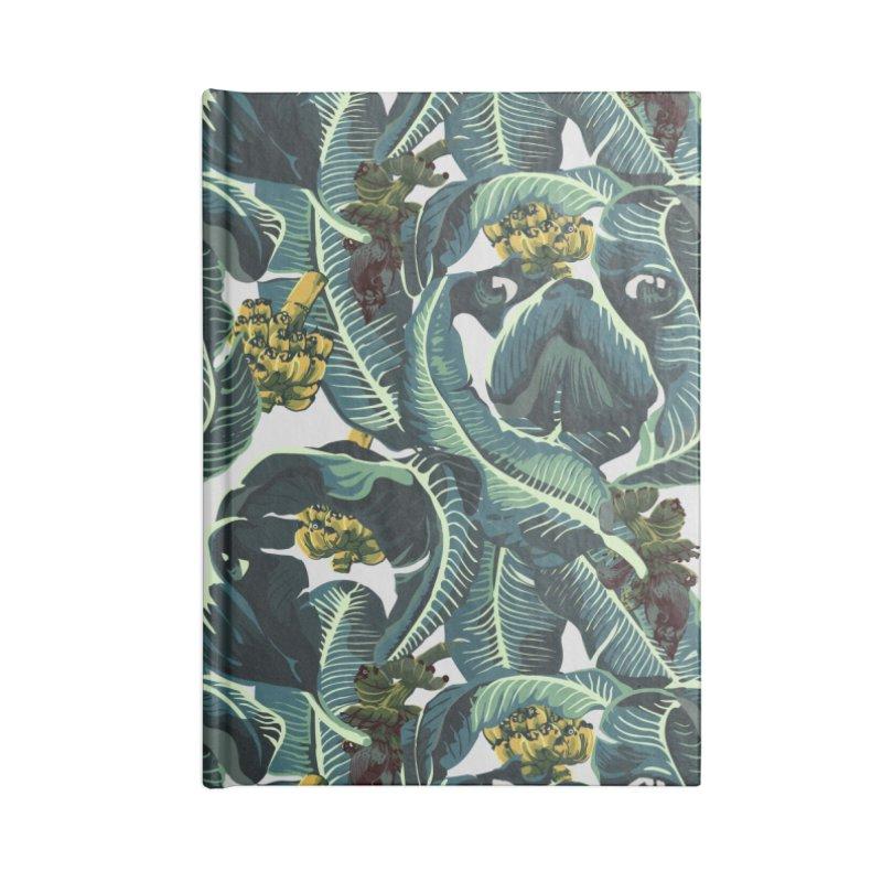 Banana Pugs Accessories Notebook by huebucket's Artist Shop