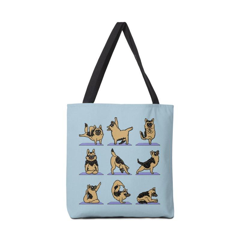 German Shepherd Yoga Accessories Bag by huebucket's Artist Shop