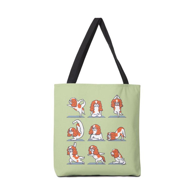 Cavalier King Charles Spaniel Yoga Accessories Bag by huebucket's Artist Shop