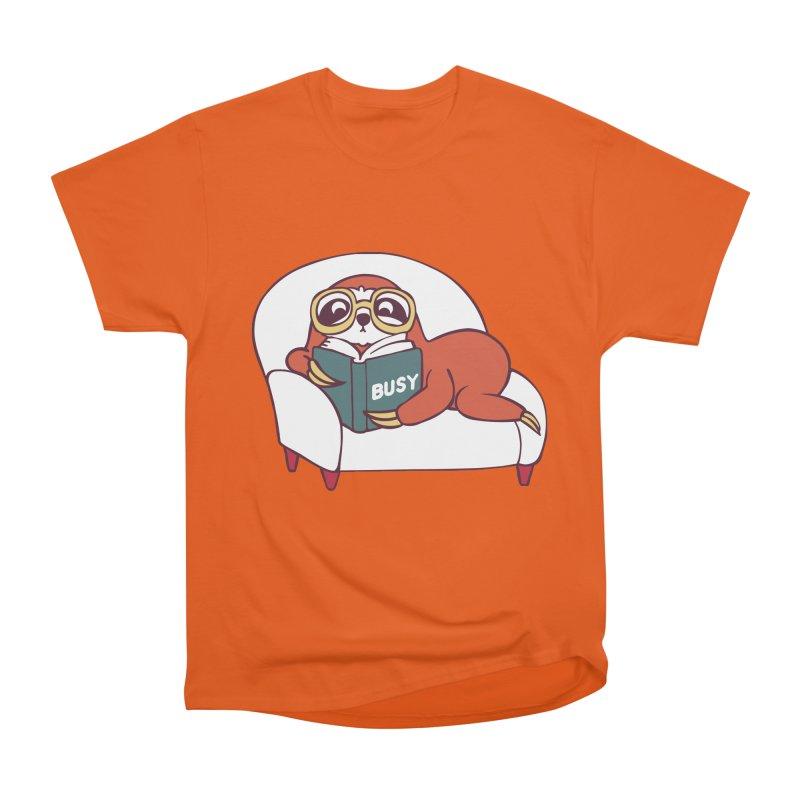 Busy Sloth Men's Heavyweight T-Shirt by huebucket's Artist Shop