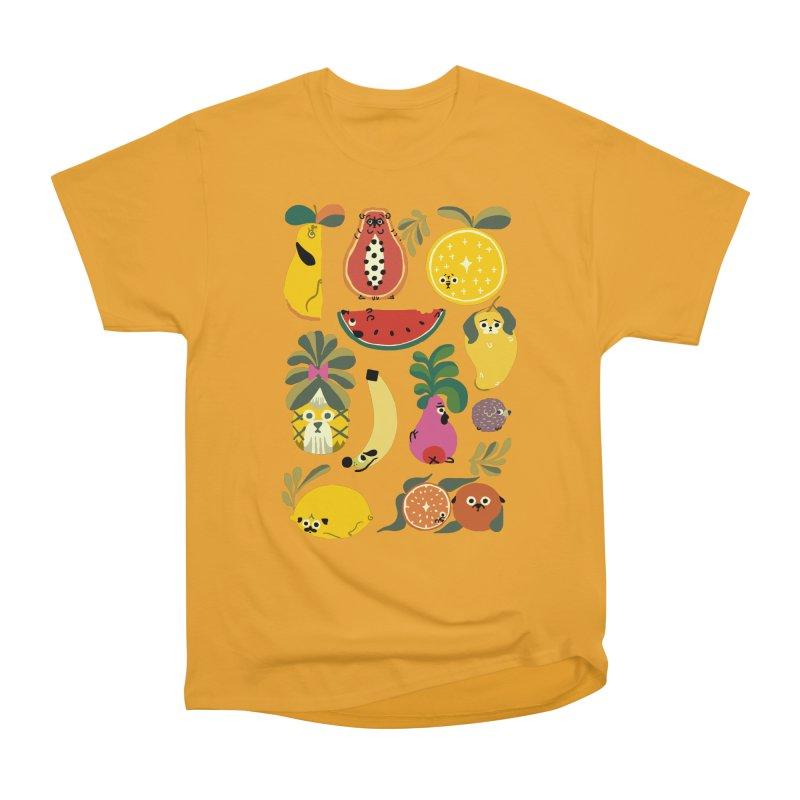 Puppical Fruits Men's Heavyweight T-Shirt by huebucket's Artist Shop