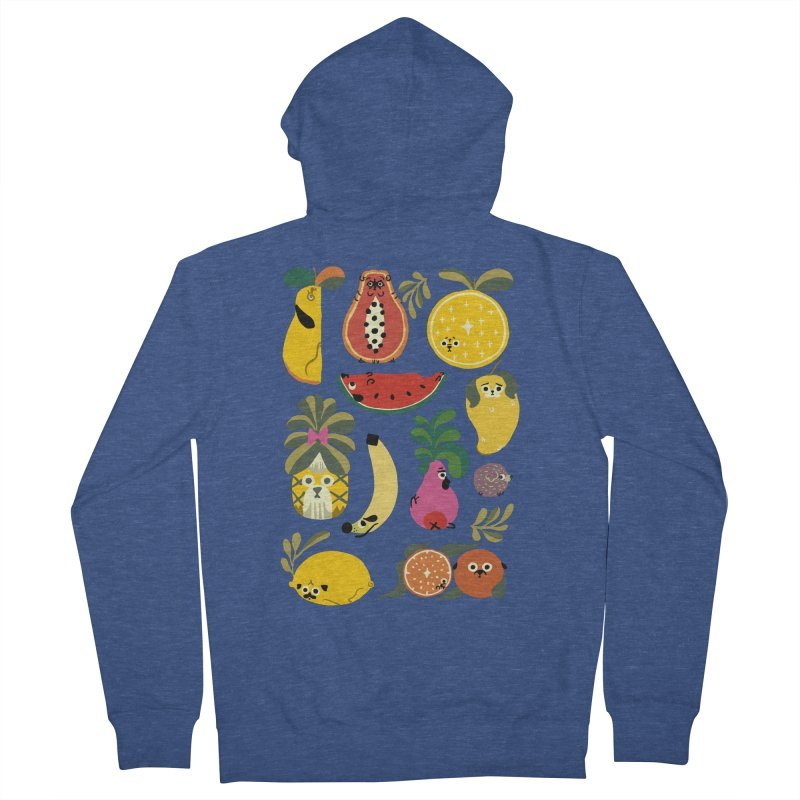 Puppical Fruits Men's Zip-Up Hoody by huebucket's Artist Shop