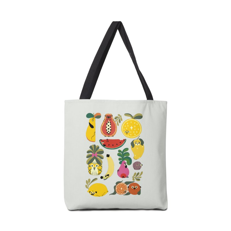 Puppical Fruits Accessories Bag by huebucket's Artist Shop