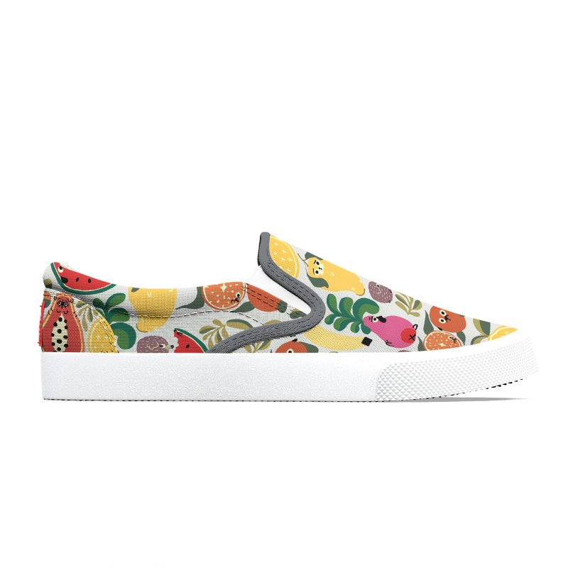 Puppical Fruits Women's Shoes by huebucket's Artist Shop