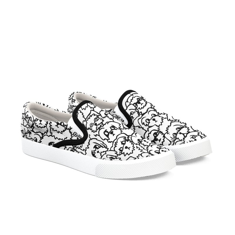 Oh Maltese Women's Slip-On Shoes by huebucket's Artist Shop