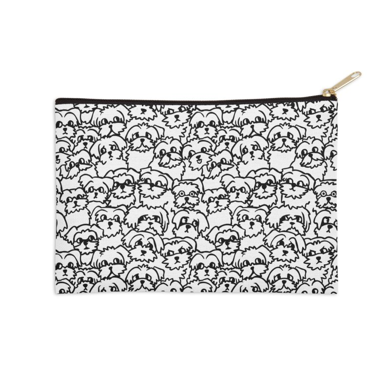 Oh Maltese Accessories Zip Pouch by huebucket's Artist Shop