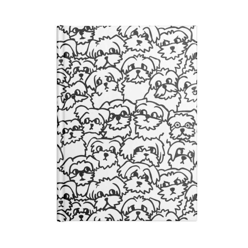Oh Maltese Accessories Blank Journal Notebook by huebucket's Artist Shop
