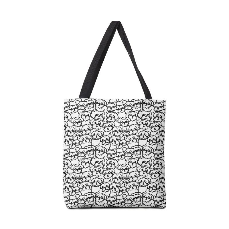 Oh Maltese Accessories Bag by huebucket's Artist Shop