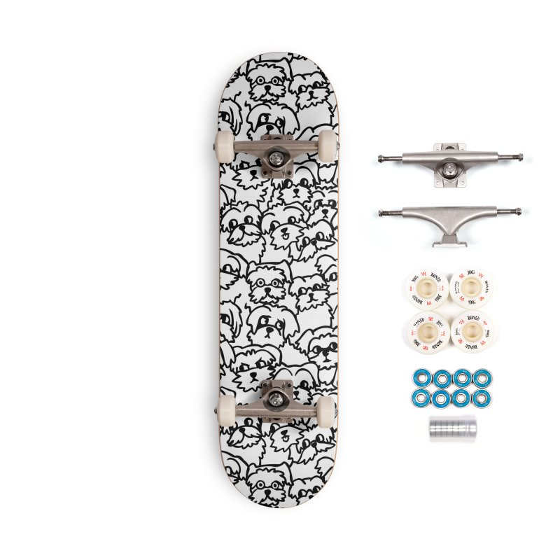 Oh Maltese Accessories Complete - Premium Skateboard by huebucket's Artist Shop