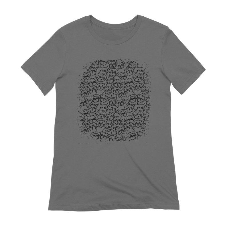 Oh Maltese Women's Extra Soft T-Shirt by huebucket's Artist Shop