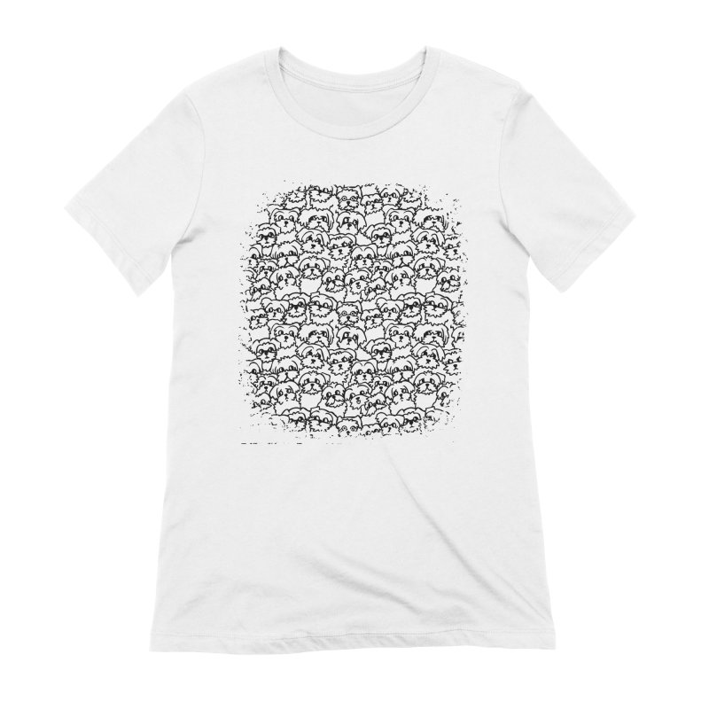 Oh Maltese Women's Extra Soft T-Shirt by huebucket's Artist Shop