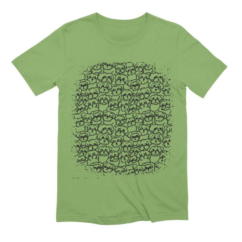 Oh Maltese Men's Extra Soft T-Shirt by huebucket's Artist Shop