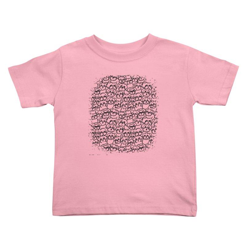 Oh Maltese Kids Toddler T-Shirt by huebucket's Artist Shop