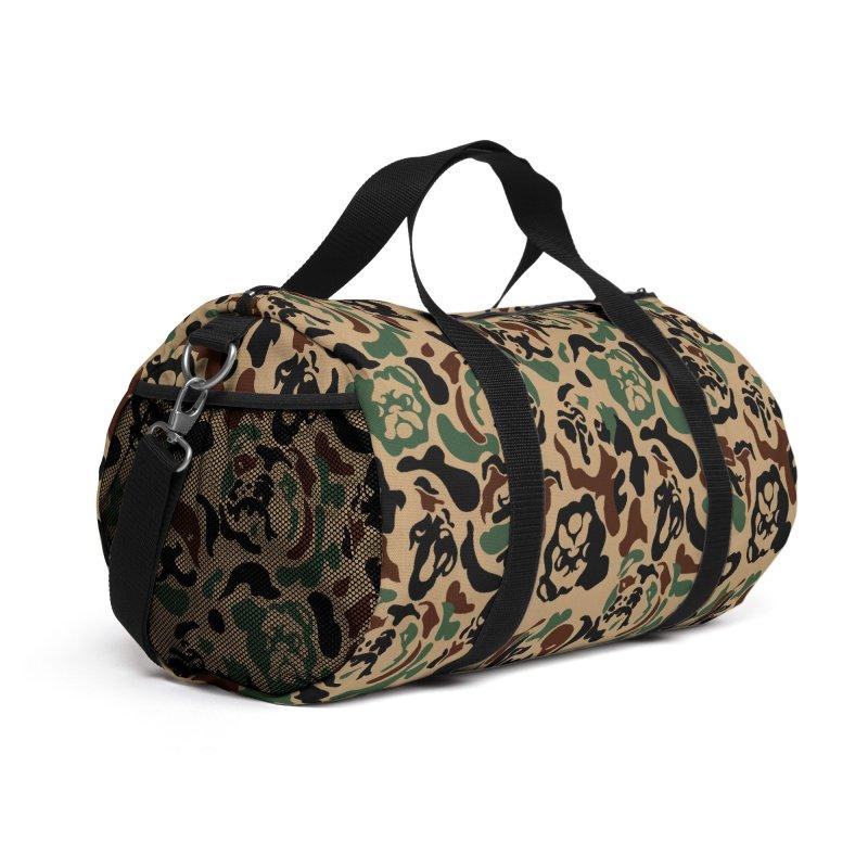 English Bulldog Camouflage Accessories Bag by huebucket's Artist Shop