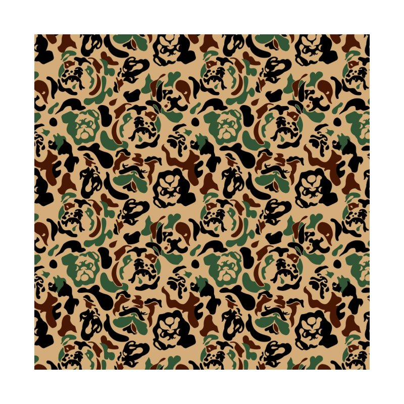 English Bulldog Camouflage by huebucket's Artist Shop