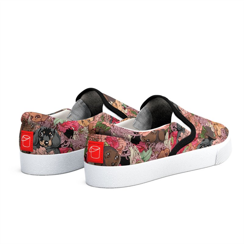 Because Dachshund Women's Shoes by huebucket's Artist Shop