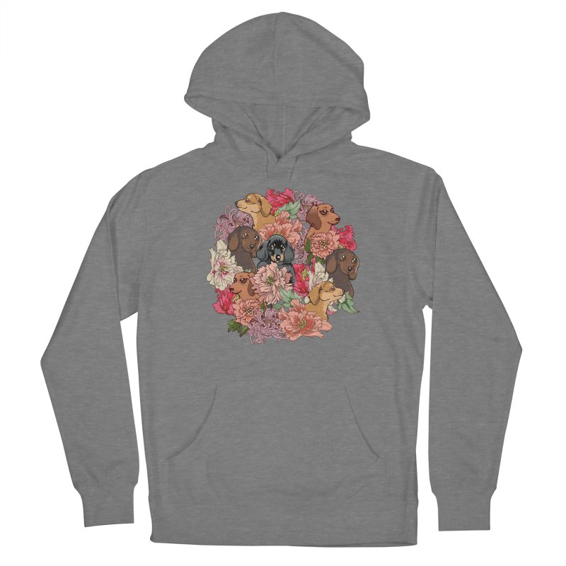 Because Dachshund Women's Pullover Hoody by huebucket's Artist Shop