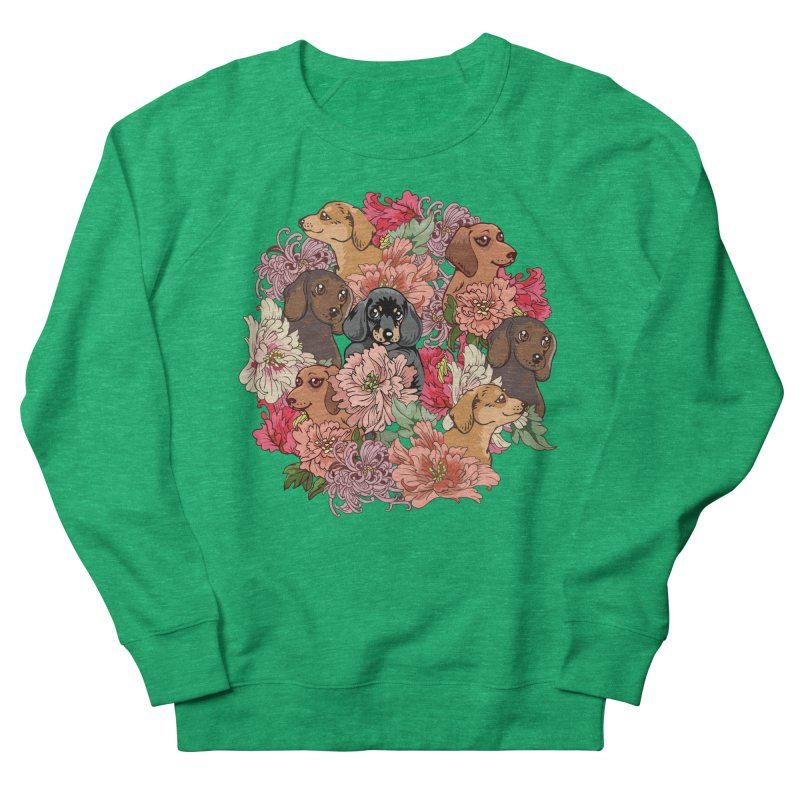 Because Dachshund Women's Sweatshirt by huebucket's Artist Shop