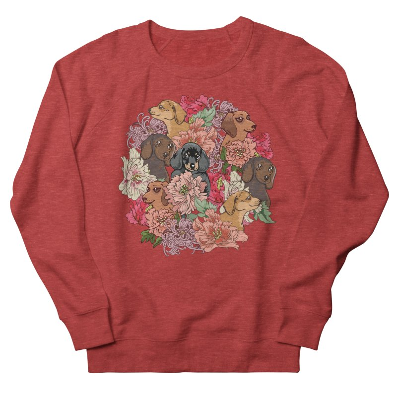 Because Dachshund Men's Sweatshirt by huebucket's Artist Shop