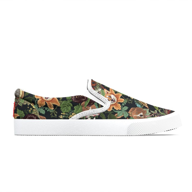Botanical Puppies Women's Shoes by huebucket's Artist Shop