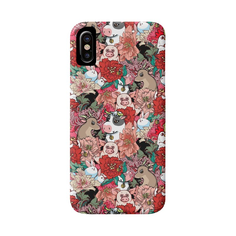 Because Vegan Accessories Phone Case by huebucket's Artist Shop