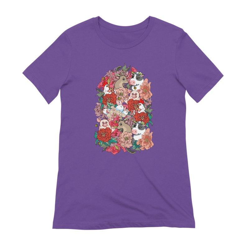 Because Vegan Women's Extra Soft T-Shirt by huebucket's Artist Shop