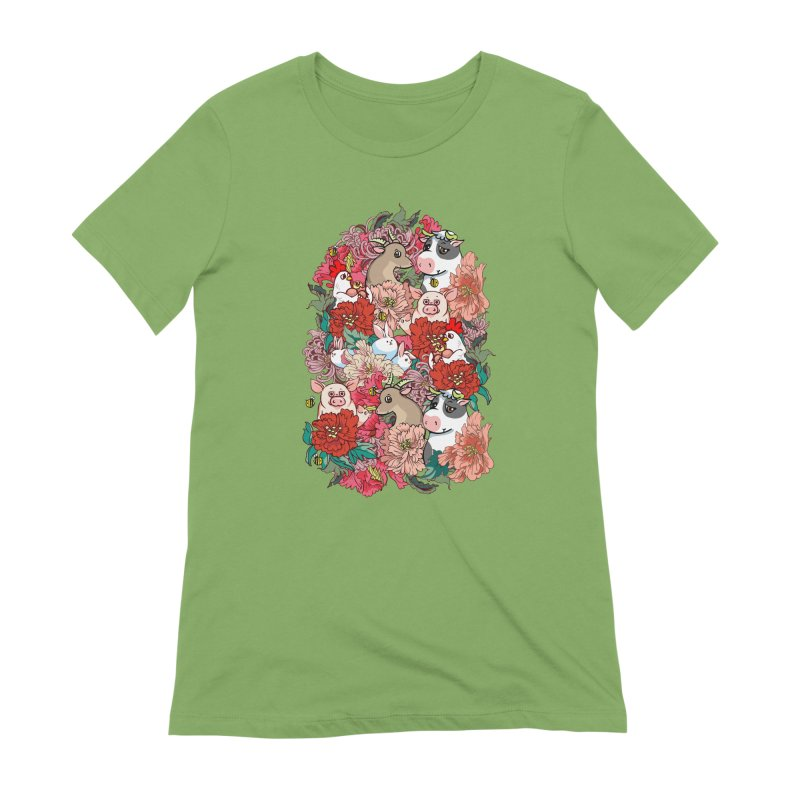 Because Vegan Women's Extra Soft T-Shirt by huebucket's Artist Shop