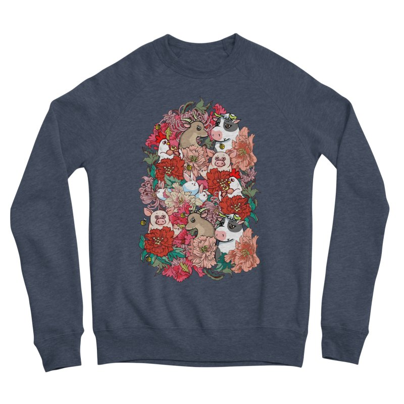 Because Vegan Women's Sponge Fleece Sweatshirt by huebucket's Artist Shop