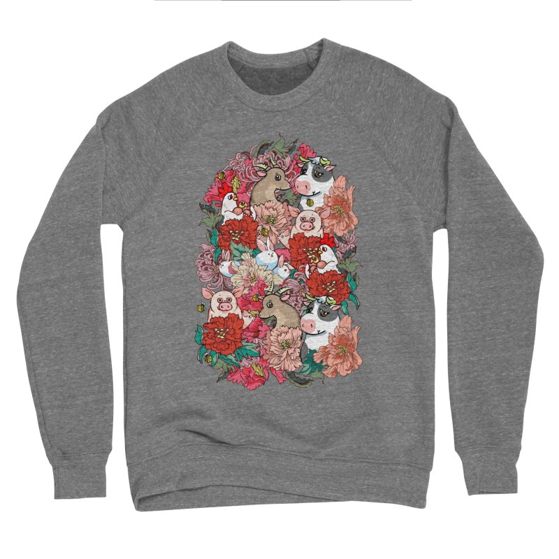 Because Vegan Women's Sponge Fleece Sweatshirt by huebucket's Artist Shop