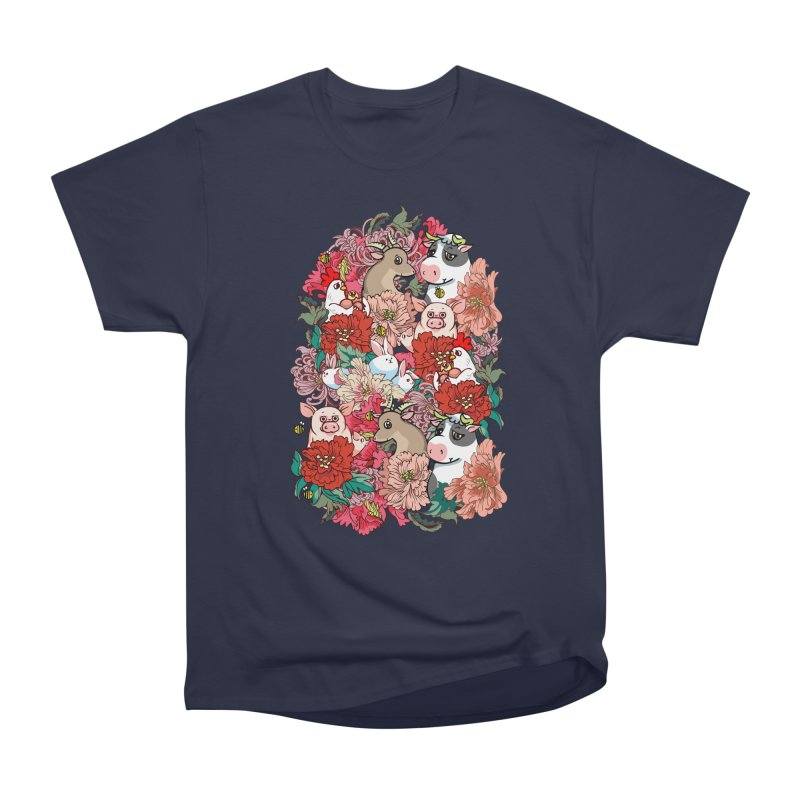 Because Vegan Men's Heavyweight T-Shirt by huebucket's Artist Shop