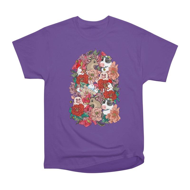 Because Vegan Women's Heavyweight Unisex T-Shirt by huebucket's Artist Shop