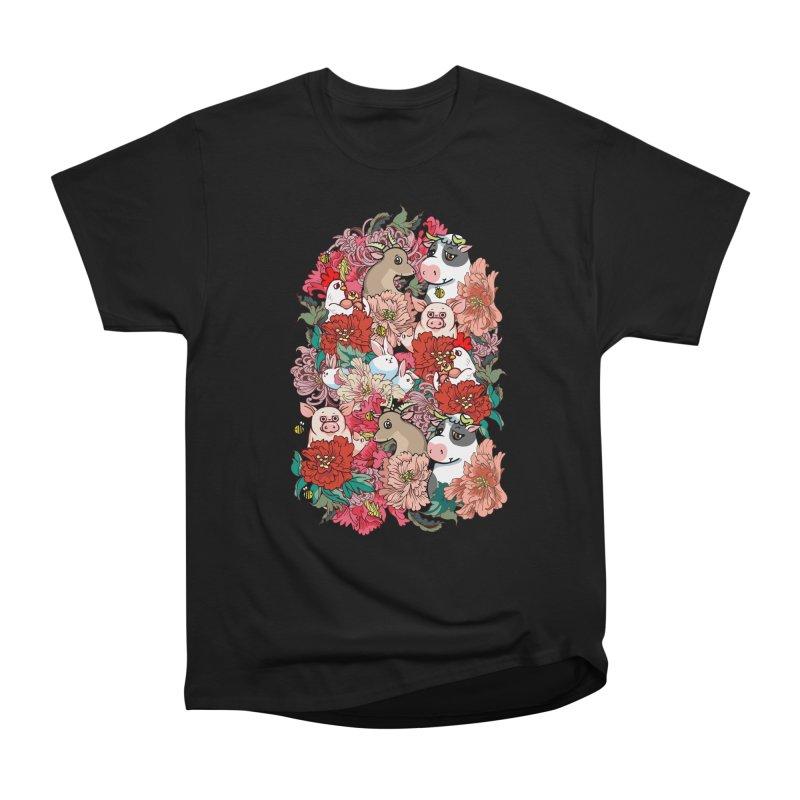 Because Vegan Men's Heavyweight T-Shirt by huebucket's Artist Shop