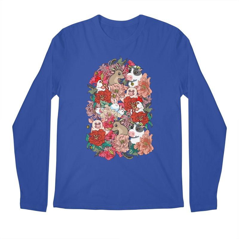 Because Vegan Men's Regular Longsleeve T-Shirt by huebucket's Artist Shop