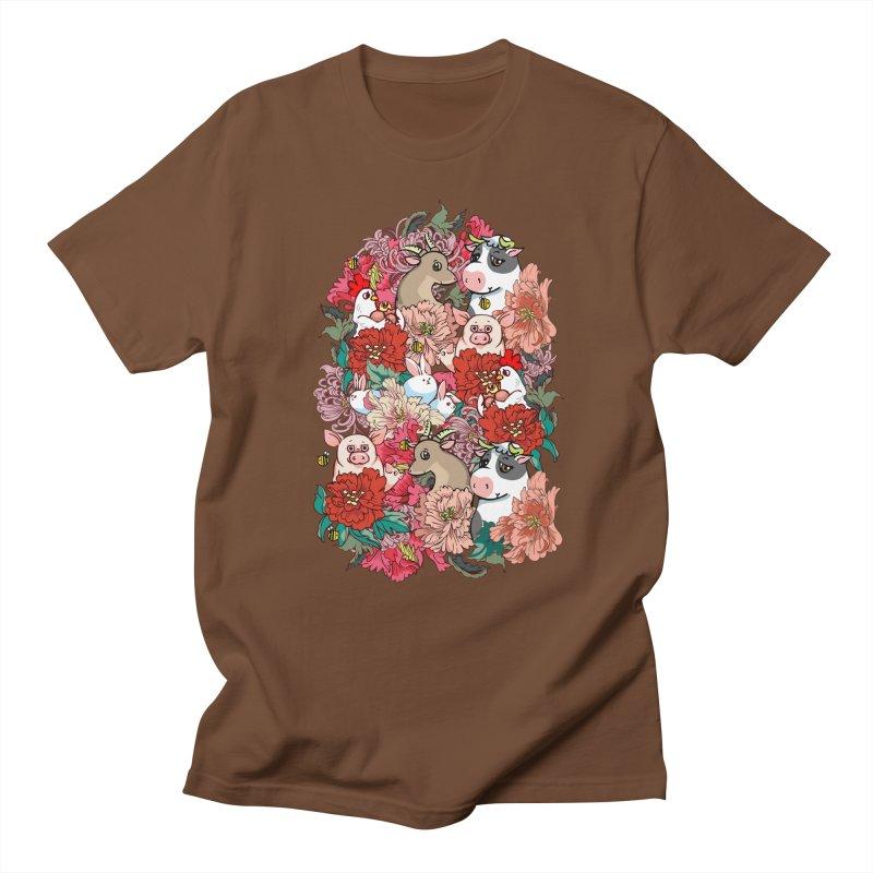 Because Vegan Men's Regular T-Shirt by huebucket's Artist Shop