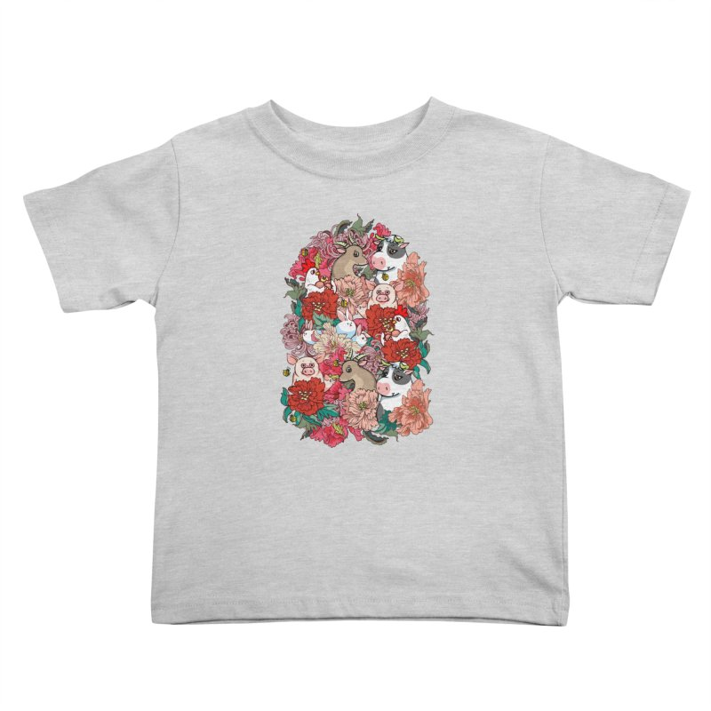 Because Vegan Kids Toddler T-Shirt by huebucket's Artist Shop