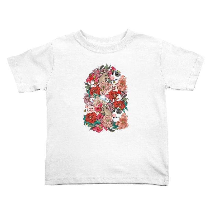 Because Vegan Kids Toddler T-Shirt by huebucket's Artist Shop