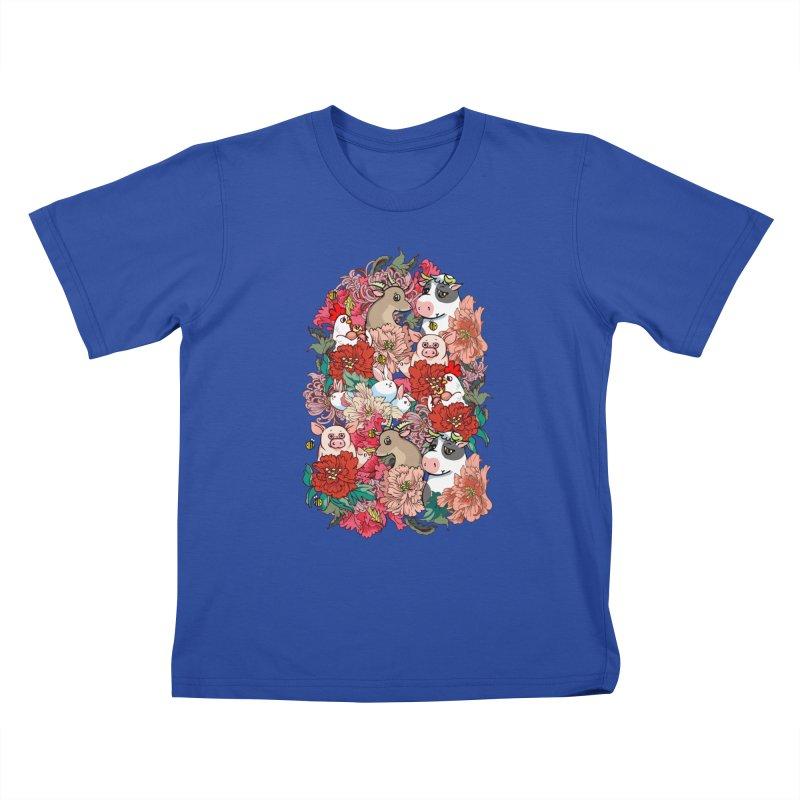 Because Vegan Kids T-Shirt by huebucket's Artist Shop