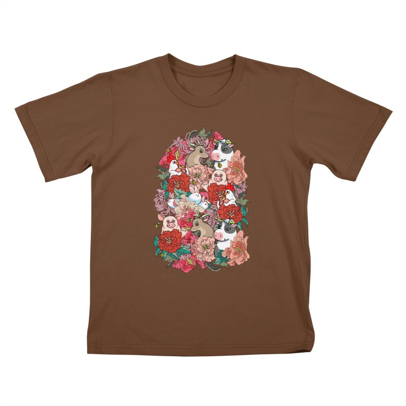 Because Vegan Kids T-Shirt by huebucket's Artist Shop
