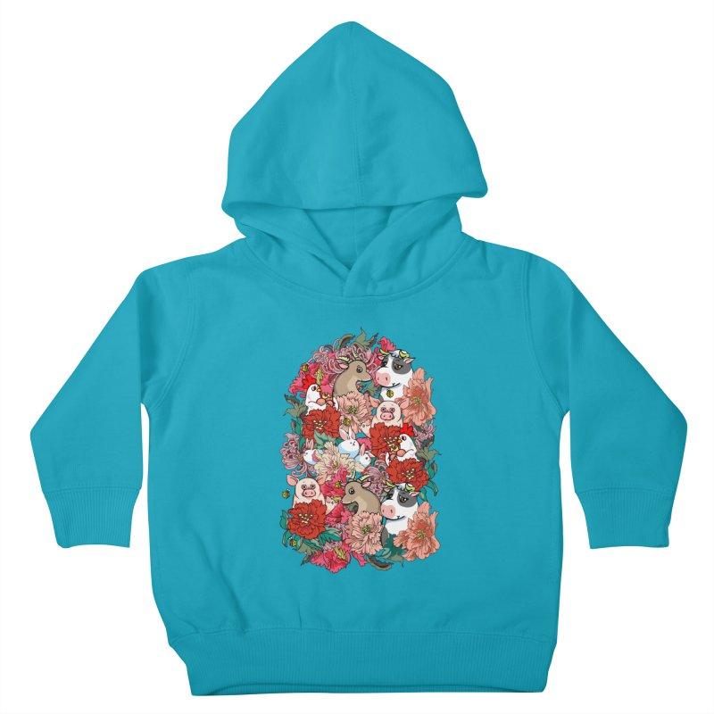 Because Vegan Kids Toddler Pullover Hoody by huebucket's Artist Shop