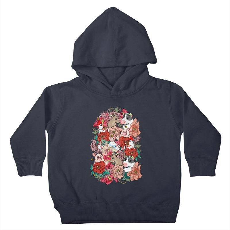 Because Vegan Kids Toddler Pullover Hoody by huebucket's Artist Shop