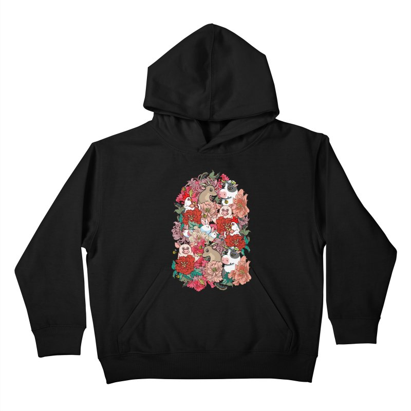 Because Vegan Kids Pullover Hoody by huebucket's Artist Shop