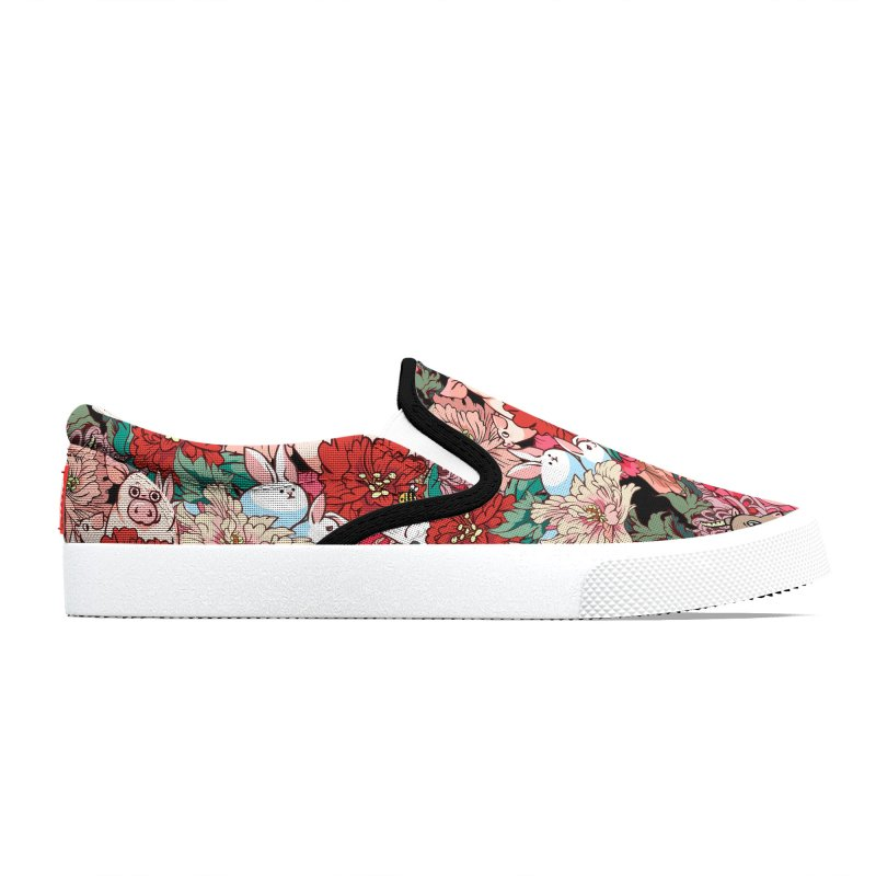 Because Vegan Women's Shoes by huebucket's Artist Shop