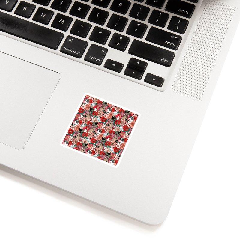 Because Vegan Accessories Sticker by huebucket's Artist Shop
