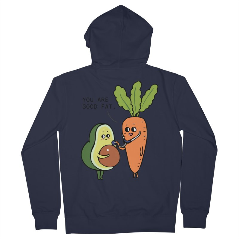 You are good fat Men's French Terry Zip-Up Hoody by huebucket's Artist Shop