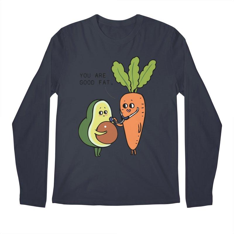 You are good fat Men's Regular Longsleeve T-Shirt by huebucket's Artist Shop